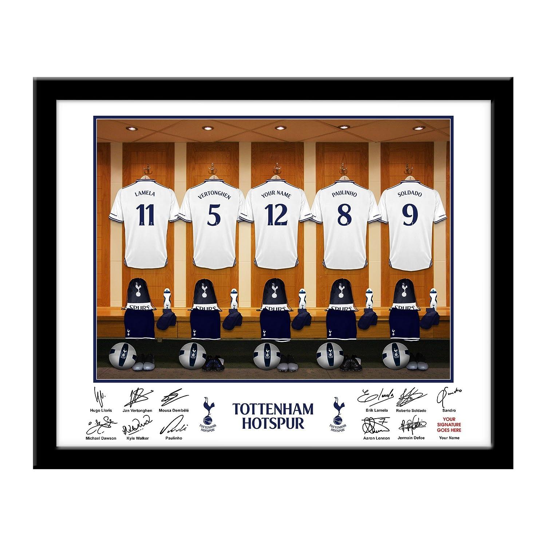 Tottenham hotspur personalized dressing room photo soccer gifts tottenham hotspur personalized dressing room photo soccer gifts wall decor stickers amazon jeuxipadfo Images