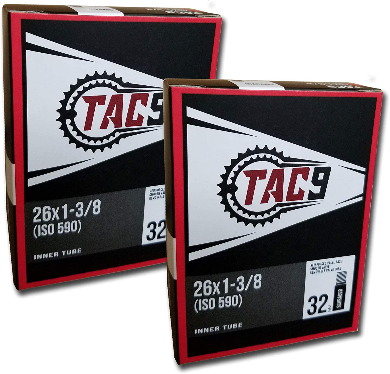 26*1 3//8 26*1.375 Inner Tire Schrader Valve Bike Bicycle Butyl Rubber Tube Tyre