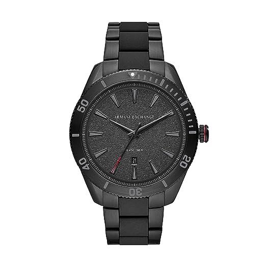 db310f9206b0 Armani Exchange Reloj Analógico para Hombre de Cuarzo con Correa en Acero  Inoxidable AX1826  Amazon.es  Relojes