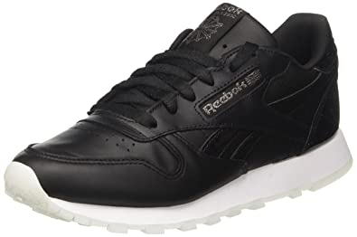 Reebok Classic Leather L, Basses Femme - Or (Pearl Met-Grey Gold/White), 37 EU (4 UK)
