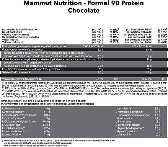 Mammut Formel 90 Protein (3000g) 3000 g