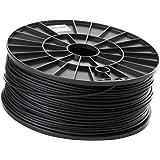 kiboplast PLA-Filament für 3D-Drucker, ø 3 mm, 1 kg - schwarz