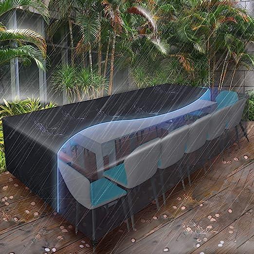 Lunghezza 433cm-458cm Telo/Copriauto/Esterno Impermeabile 6 Strati Copertura Universale Protezione Solare per Berlina con Chiusure Lampo