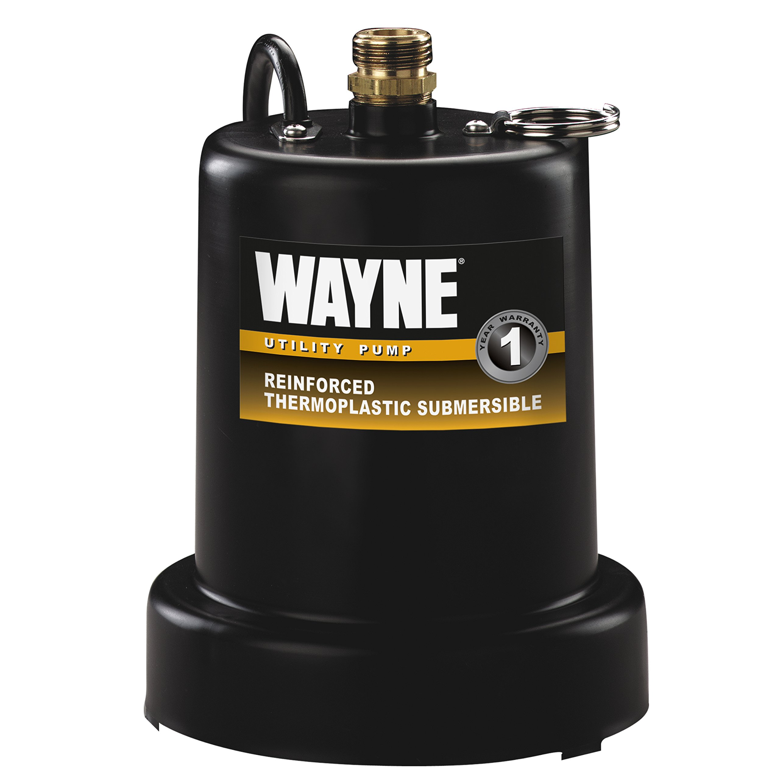 WAYNE TSC130 1/4 HP Reinforced Submersible Thermoplastic Water Removal Pump with 3/4 in. Discharge