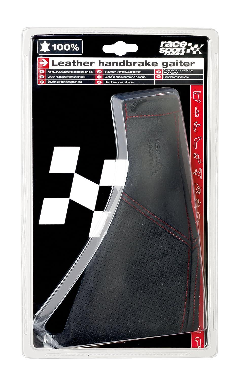 Black Real Leather /& Chrome Genuine Sumex Branded Handbrake Lever Handle Grip