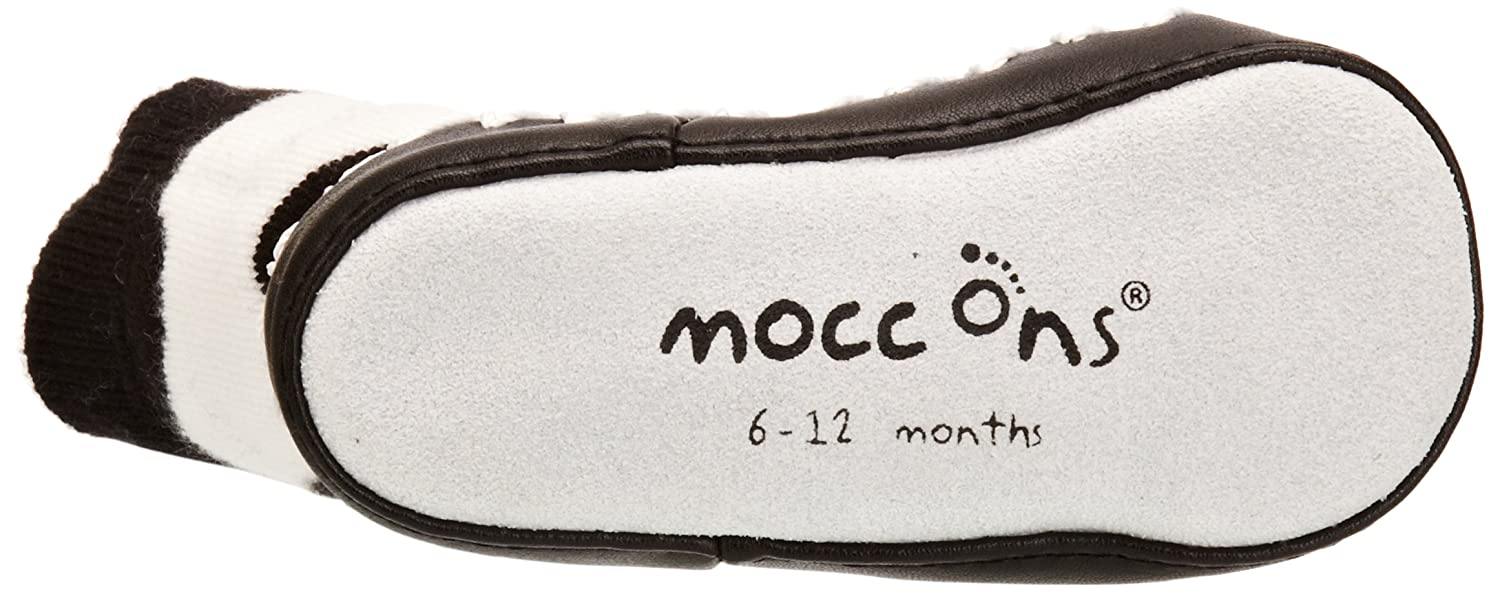 Cow Print Mocc Ons Moccasin Style Slipper Socks