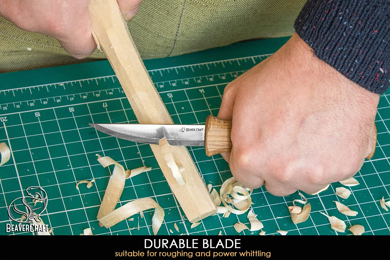 Amazon.com: BeaverCraft el mejor cuchillo para tallar madera ...