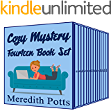 Meredith Potts Fourteen Book Cozy Mystery Set