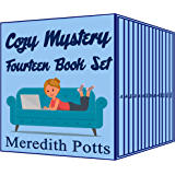 Meredith Potts Fourteen Book Cozy Mystery Set (English Edition)