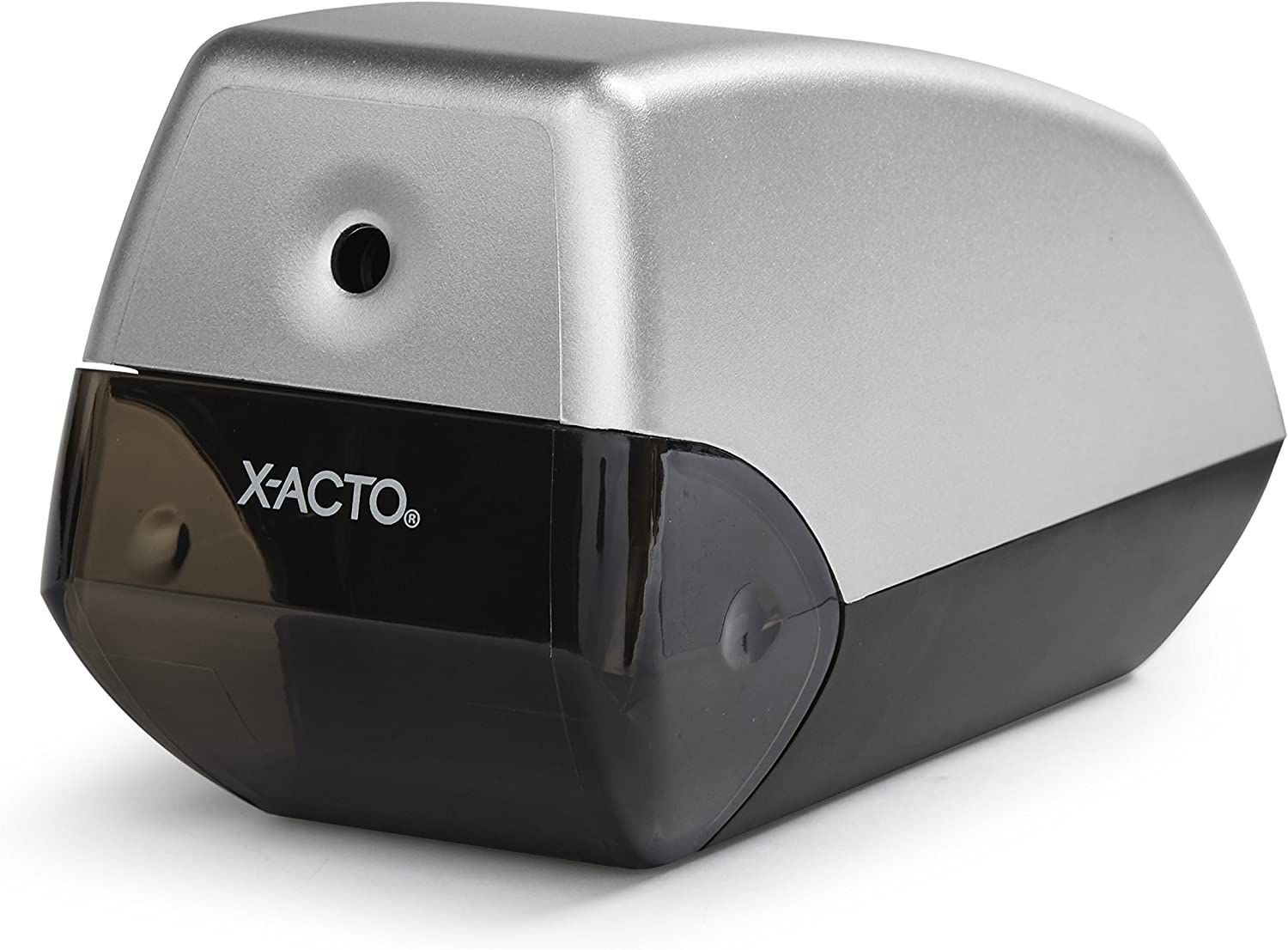 X-ACTO Electric Sharpener, Two-Tone Silver/Gray (1900)
