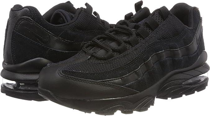 Nike Jungen Air Max 95 (GS) Sneaker, Schwarz Black 055, 35.5