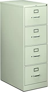 product image for HON 214CPQ 210 Series 28-1/2-Inch 4-Drawer Full-Suspension Legal File, Light Gray