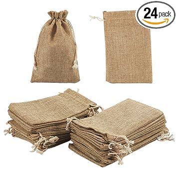 Amazon.com: Bolsa de joyas bolsas de cordón – 24 piezas ...