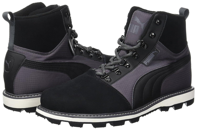 Puma Boot Unisex-Erwachsene Tatau Fur Boot Puma 2 Sneaker Schwarz (schwarz-asphalt) 13801c