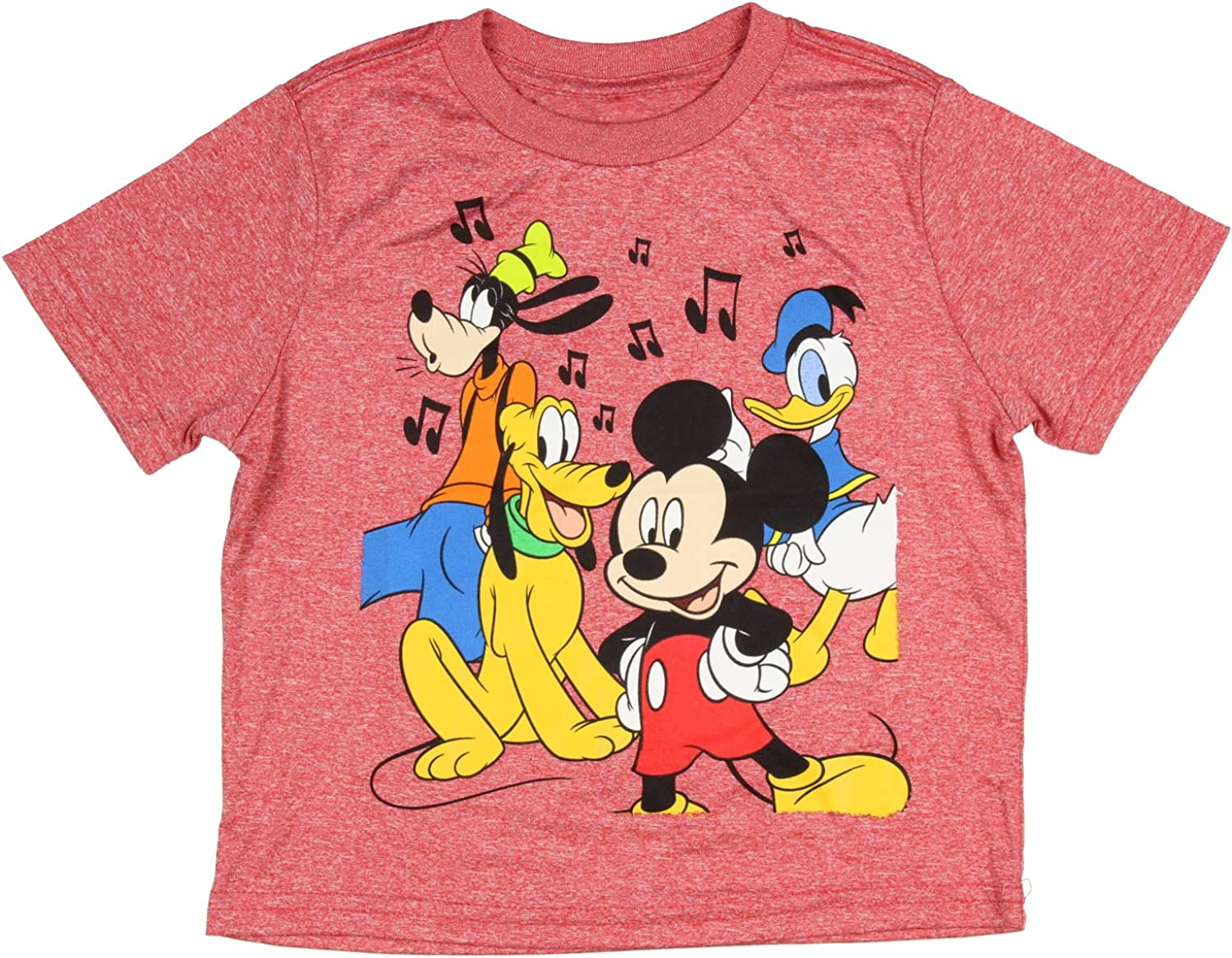 Disney Mickey Mouse Pluto Goofy Donald Duck Music Toddler Shirt