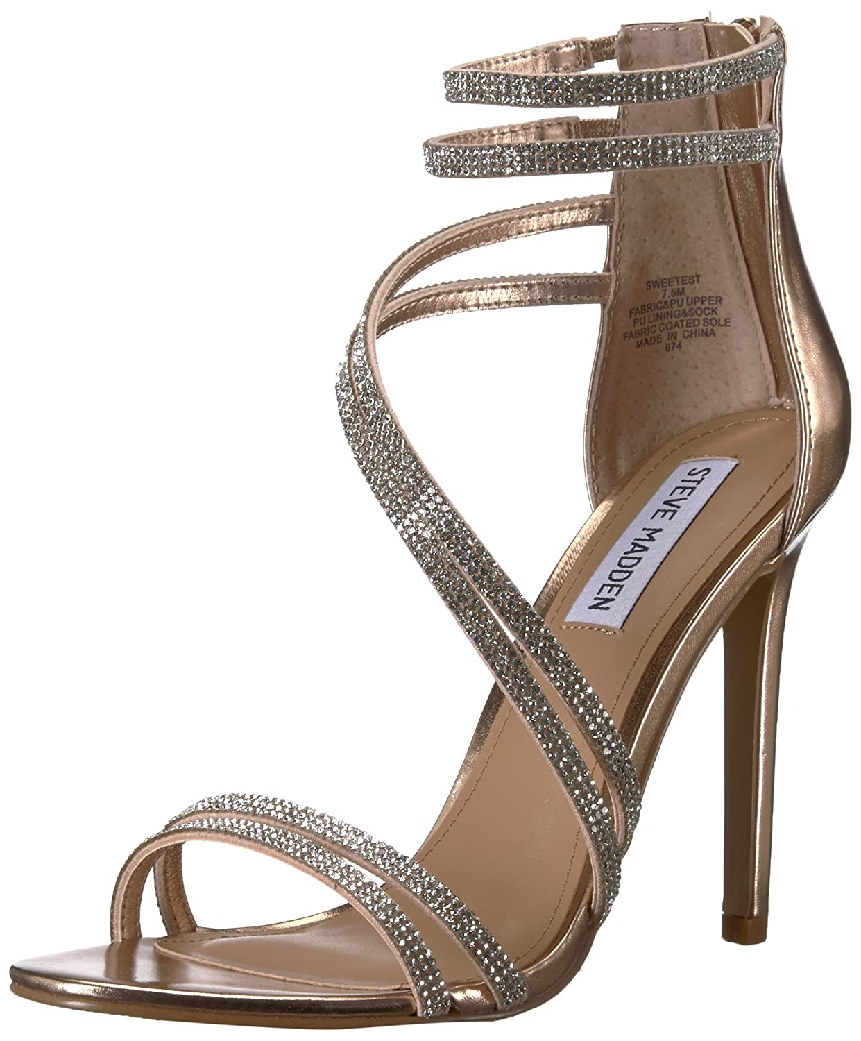 ab888bf0a31 Steve Madden Women's Sweetest Heeled Sandal: Buy Online at Low ...