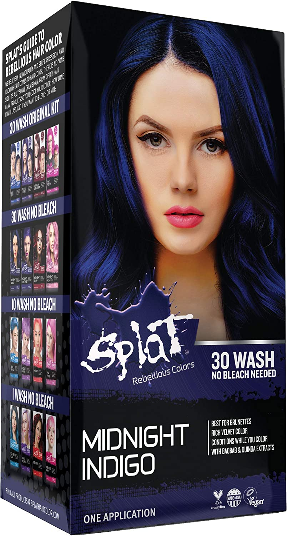 Amazon Com Splat Midnight Hair Color Indigo 6 0 Oz Indigo Health Personal Care