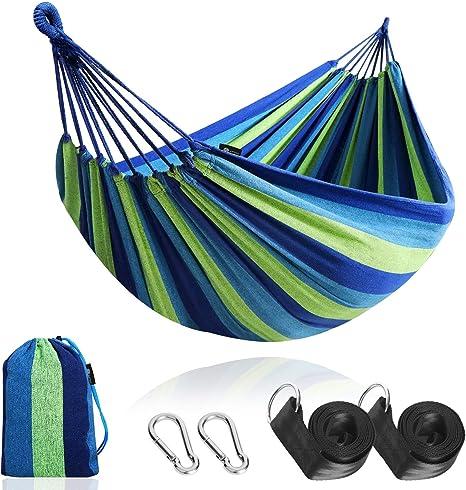 Légère voyage hamac avec support pour Camping /& Jardin Design Loisirs Chaise Longue