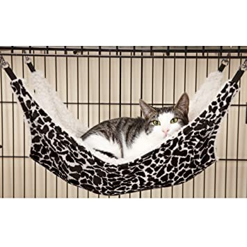proselecta wild time pet cage hammocks    fortable hammocks for cats and small dogs black amazon     proselecta wild time pet cage hammocks    fortable      rh   amazon