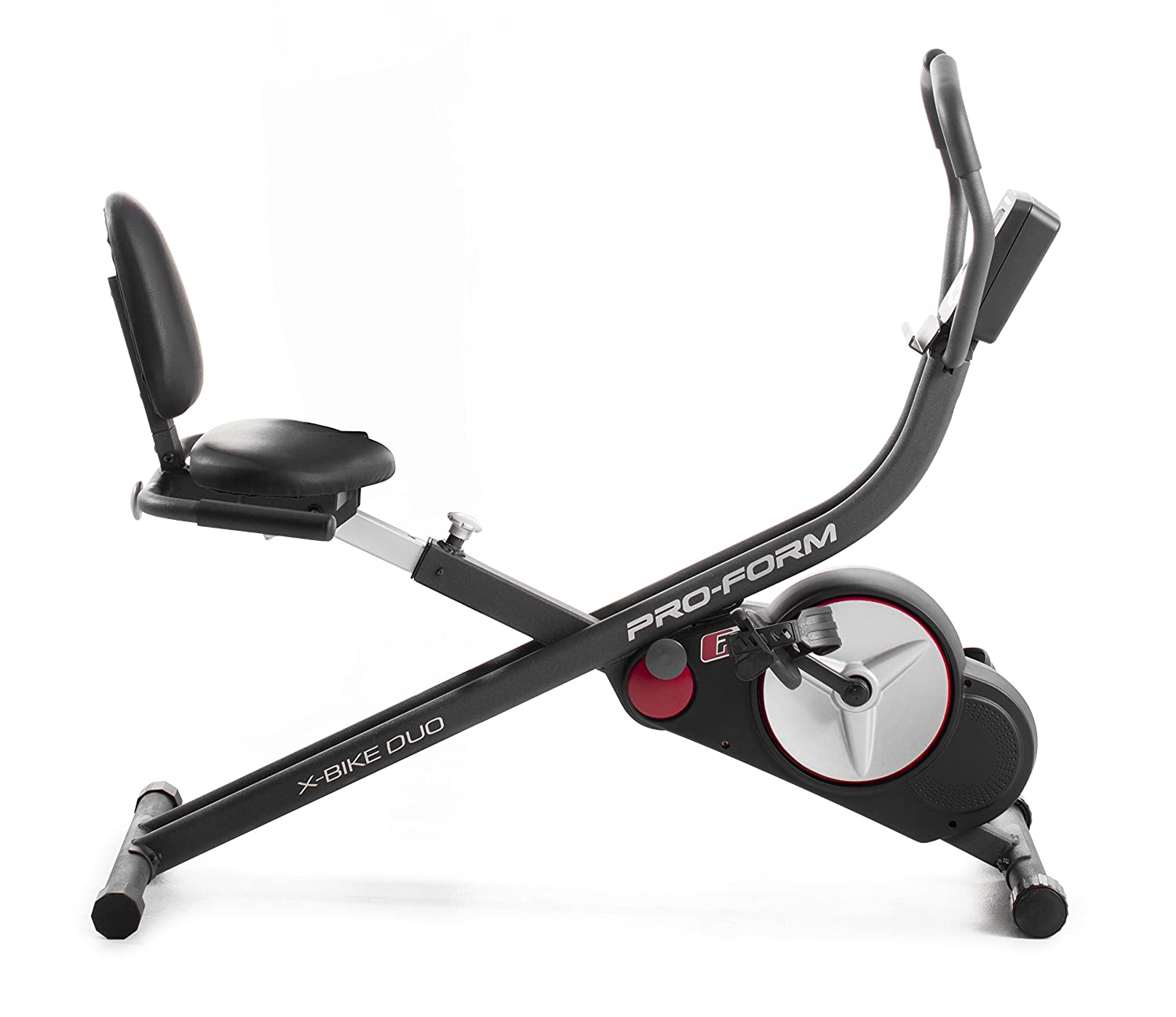 ProForm Recumbent  Bike Heimtrainer-  X-Bike Duo  2 in 1 Sitz und Liege Heimtrainern 14Workouts und 14 Widerstands-Level , LCD-Display -PFEVEX71917