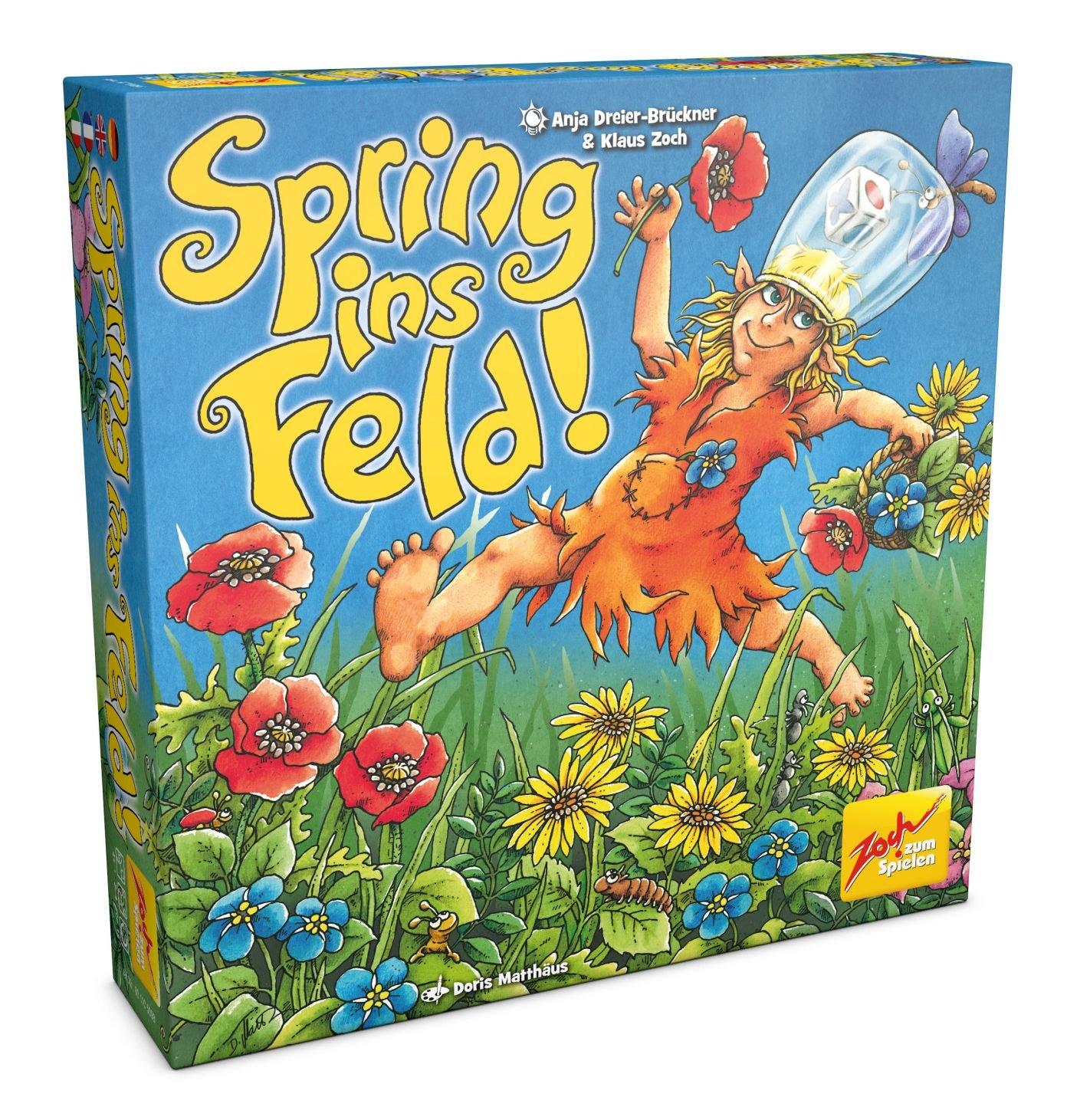 Zoch 601105098 - Spring ins Feld, Kinderspiel, bunt