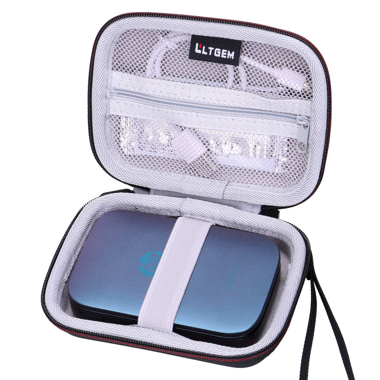 LTGEM EVAハードキャリーケース HP Sprocket ポータブルブルーフォトプリンター用 B07QJWWDQG