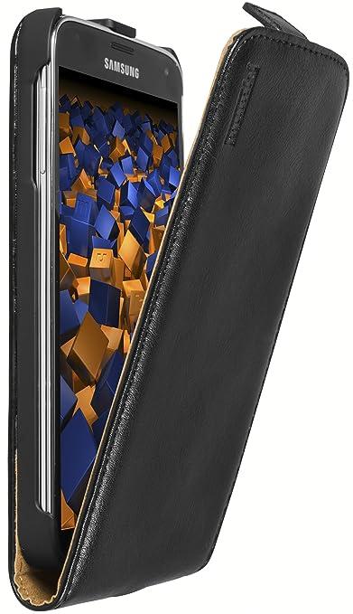 3 opinioni per Mumbi- Custodia a flip in pelle per Samsung Galaxy S5, nero
