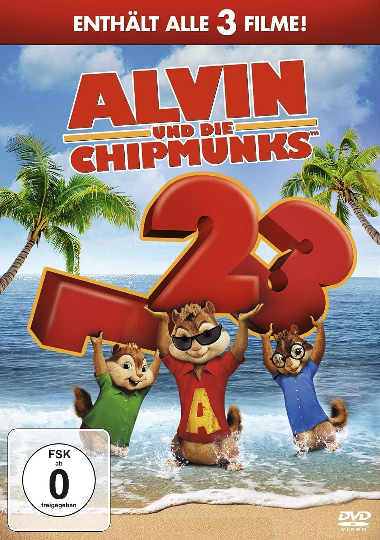 Alvin und die Chipmunks  Teil 13 3 DVDs Amazonde Jason Lee