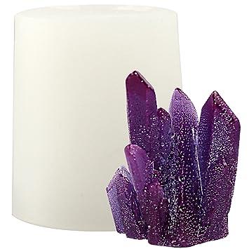 musykrafties - Molde de Silicona con Cristales de Cuarzo, para Resina, epoxi, jabón, Vela, isomalt: Amazon.es: Hogar