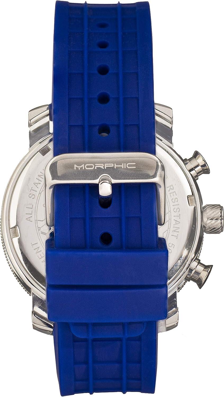 Morphic M90 Series Cronografo con Data Verde/Argento/Verde/Arancione Sku: Mph9004