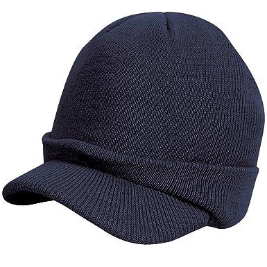 983d882310e Result - Bonnet à visière - Enfant unisexe (Taille unique) (Bleu marine)   Amazon.fr  Vêtements et accessoires