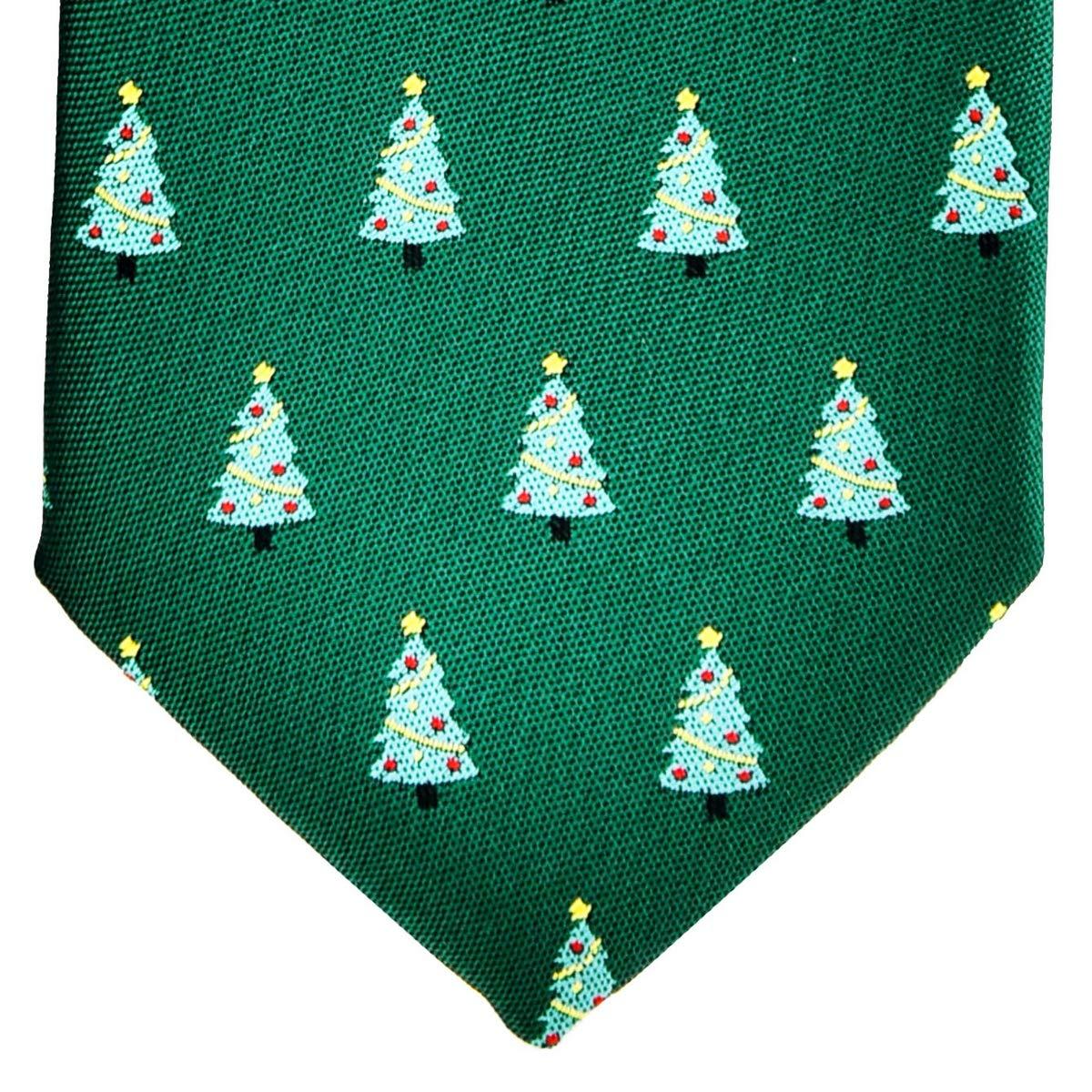 8-10 years Retreez Christmas Gingerbread Man Woven Microfiber Boys Tie