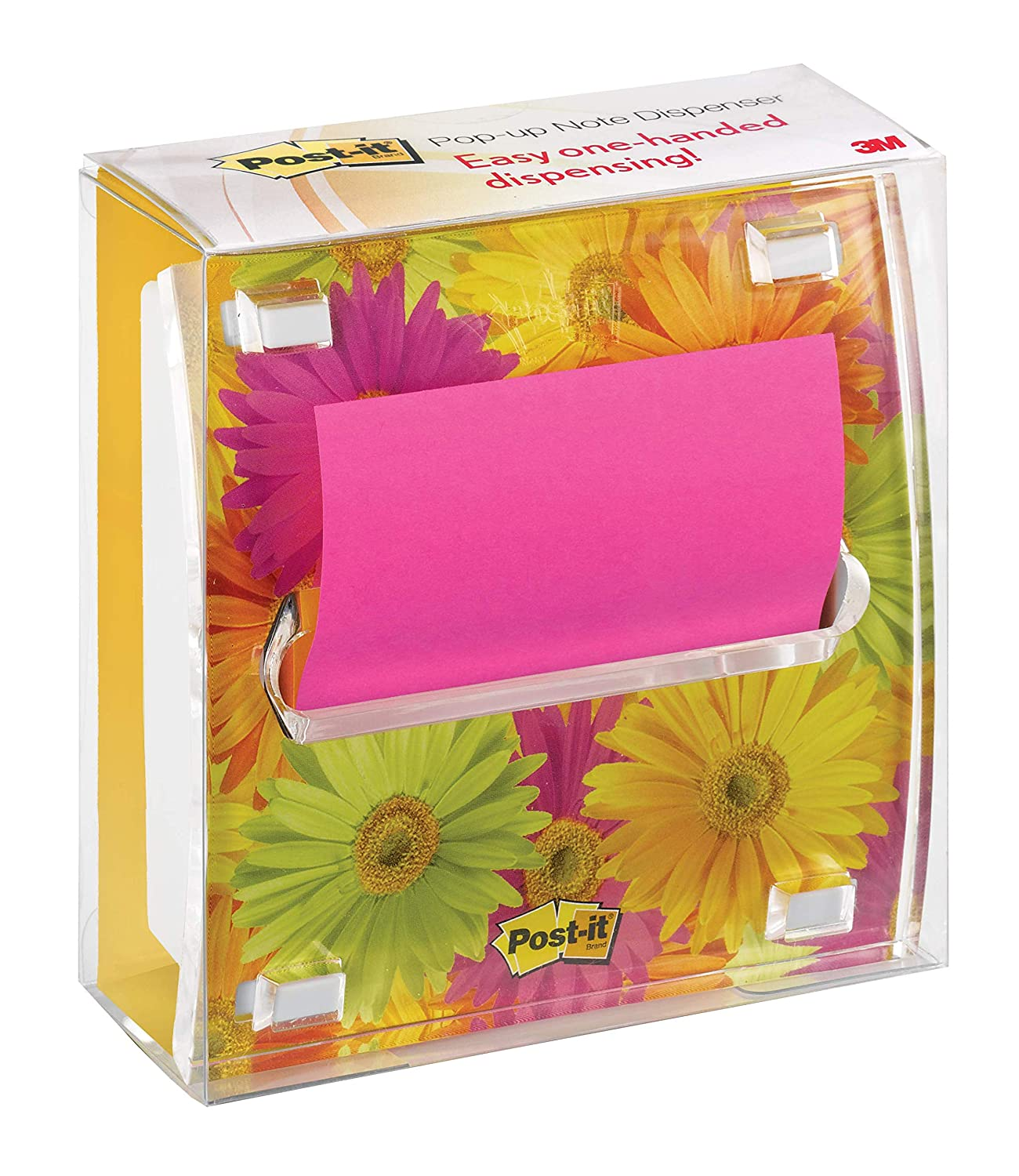 Amazon.com : Post-it® Notes Dispenser, Pop-up Refill, 3 Inches x 3 Inches, White with Clear Top and Dispenser Insert, Includes One Pop-up Refill : Sticky ...