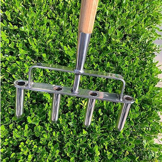 Z@SS Cultivador de Suelo de jardín Aireador Herramienta de Suelo Suelto Hierba para jardinería al Aire Libre casa de césped: Amazon.es: Hogar