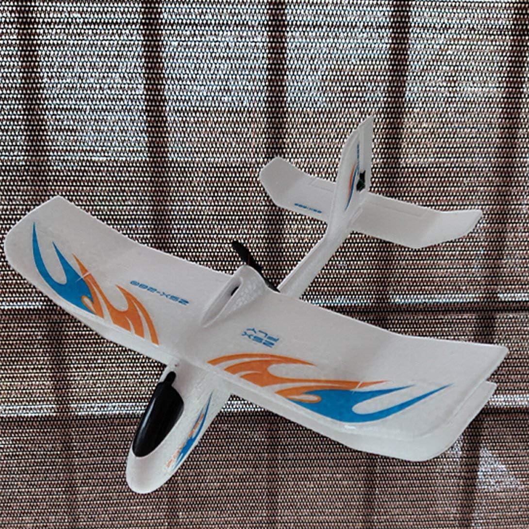 Swiftswan 2.4GHz 280mm Wingspan EPP Full-scale Electromagnetic Servo Indoor Biplane Glider RC Airplane RTF ZSX-280