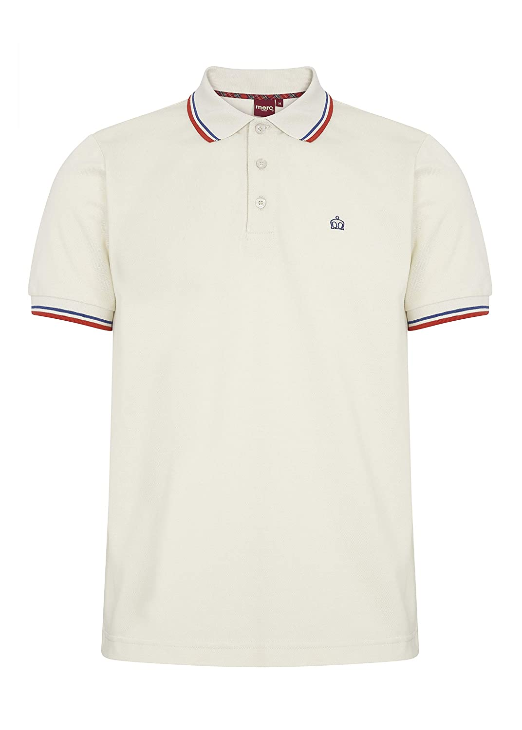 Merc Card Polo Shirt Cream -L: Amazon.es: Ropa y accesorios