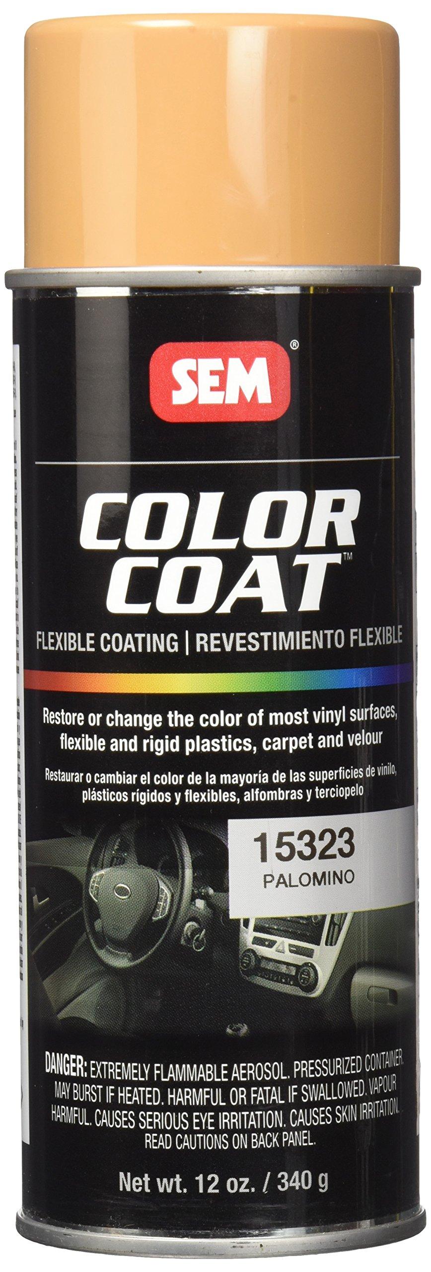 SEM Products 15323 Palomino Color Coat - 12 oz.