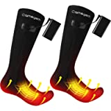 Camegem Heated Socks for Men/Women - Rechargeable Electric Thermal Socks with 3 Heat Settings, Winter Foot Warmers with…