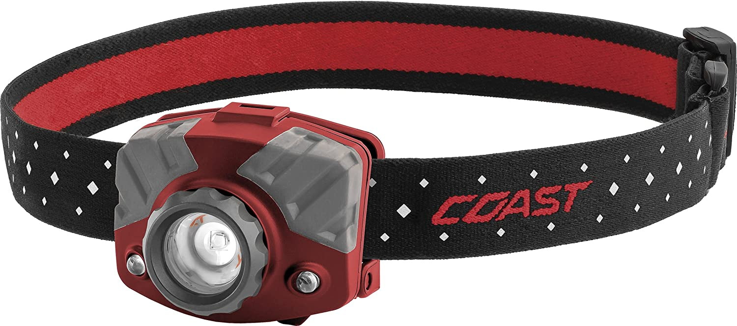 COAST FL75R 530 Lumen Rechargeable Focusing LED Headlamp with Twist Focus and Dual Color Light Modes 141[並行輸入] B01N2R48AQ