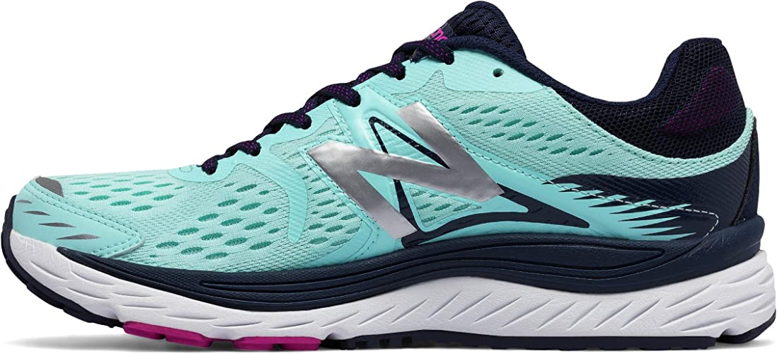 New Balance - W880 - Zapatillas Neutras - Blue/White: Amazon.es ...