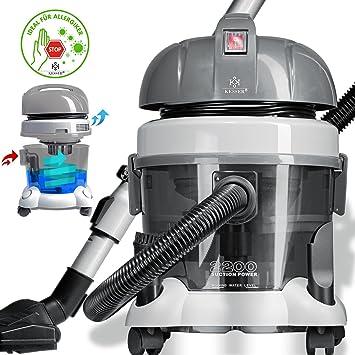 kesser® aspiradora 2200 W con filtro de agua para alérgicos ...