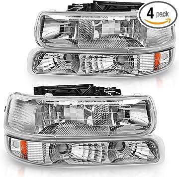 GM2503187C Headlight for 00-06 Chevrolet Tahoe