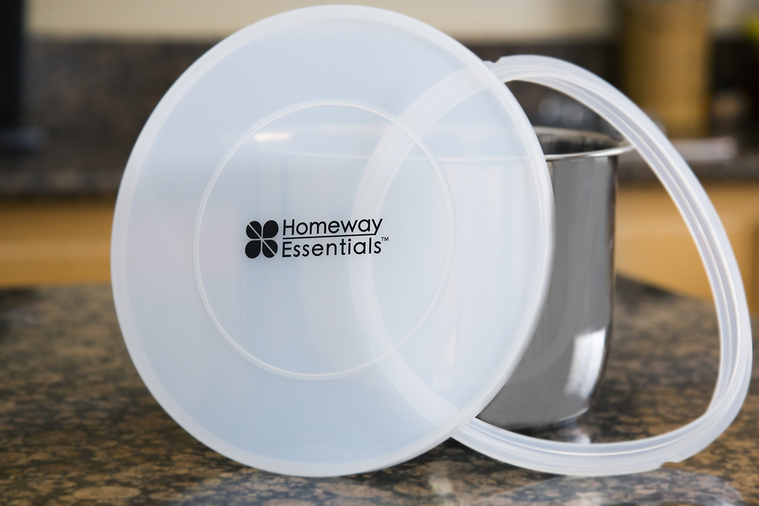 Homeway Essentials Instant Pot Lid and Sealing Ring - Ultimate Value Bundle - Best fitting Lid for InstaPot - [fits 6 Qt only]