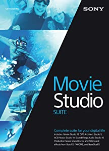Sony Movie Studio 13 Suite [Download]