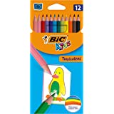 BIC Kids Tropicolors 2 Colouring Pencils 12 Pack