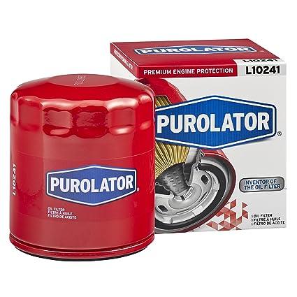 amazon com purolator l10241 purolator oil filter automotive