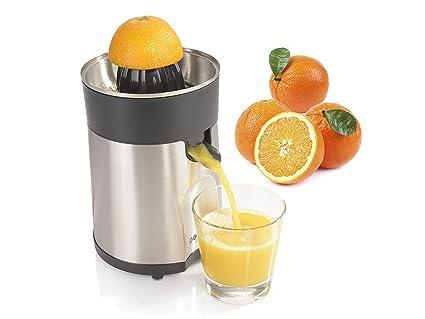 Exprimidor eléctrico Petra acero inoxidable Colador zumo de fruta zumo de
