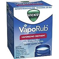 Vicks VapoRub Decongestant Chest Rub 100g