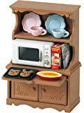 Sylvanian Families 3561 Kitchen Cabinet with Microwave