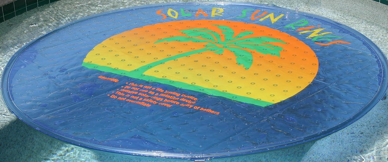 SolarSunRings SSR ssra-100 Solar Sun Rings Piscina Calentador de Agua w/Anclas: Amazon.es: Jardín